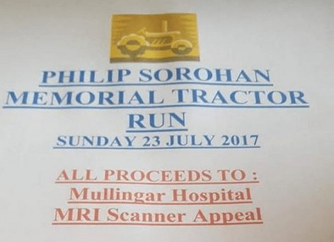 Philip Sorohan Memorial Tractor Run