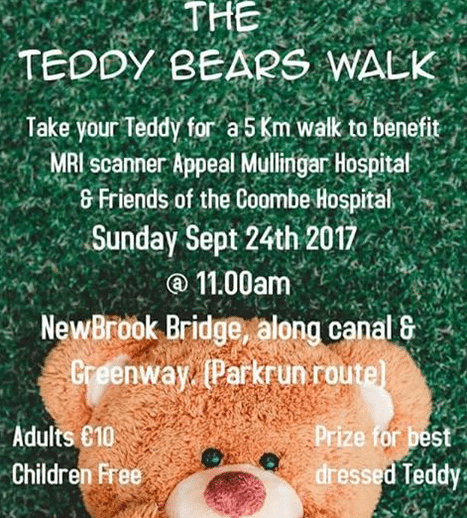 Teddy Bears Walk