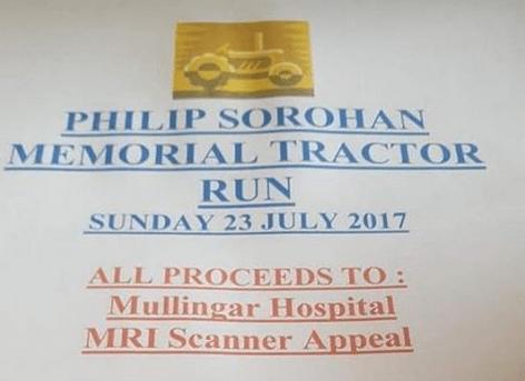 Philip Sorohan Memorial Tractor Run