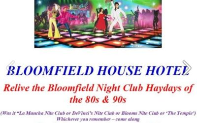 Relive the Bloomfield Nightclubs Hayday